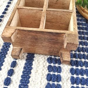 Accents - Handmade wooden miniature cubby storage display